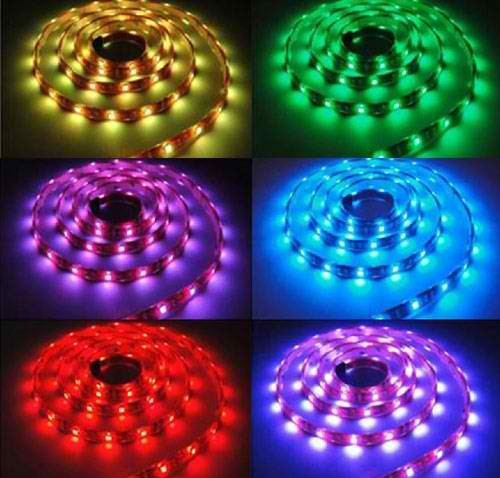 Banda led flexibila, SMD5050, 7.2W/m, 30 led-uri/m, IP65, RGB