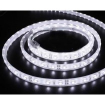 Banda LED flexibila, SMD3528, 4.8W/M, 60LED-uri/M, IP65, alb rece