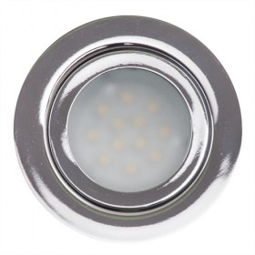 SPOT LED INCASTRABIL, SMD2835, 3W, 12VDC, 4200K, lumina neutra, IP44
