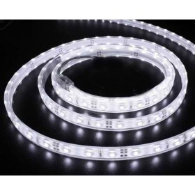 Banda LED flexibila, SMD5050, 7.2W/m, 30LED-uri/M, IP65, alb cald