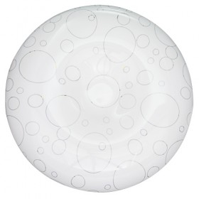 Lampa decorativa LED de tavan, 18W, 2700K